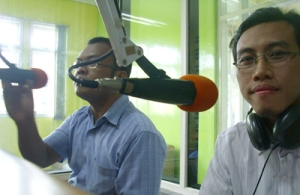 talkshow di radio oz